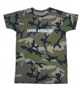 Camiseta de camuflaje LOBO   delante