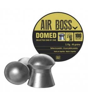 AIR BOSS DOMED Cal. 7,62 - 3,15 grams