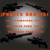 Esta primavera portes gratis para España! 😱 🤪👏🛍🎉🎊🎁 #carbine #airrifles #airguns #free #guns #carabinas